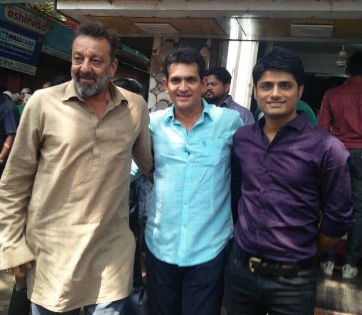 Sanjay dutt with director Omung Kumar