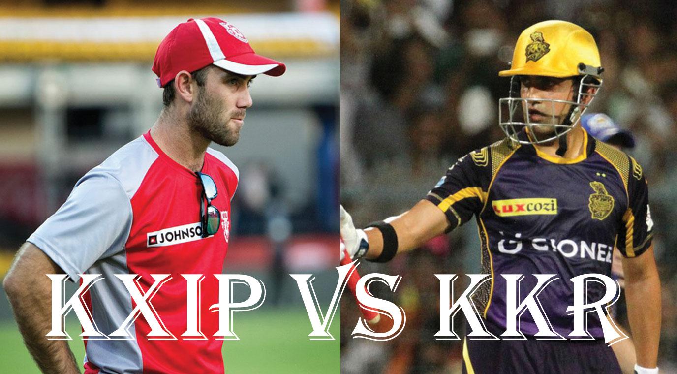Kolkata Knight Riders Vs Kings XI Punjab, IPL10 2017 11th Match preview