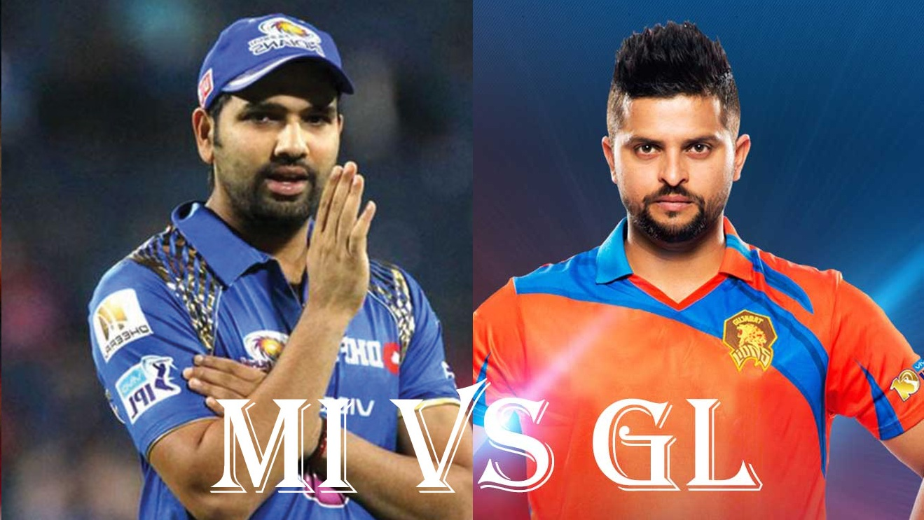 Mumbai Indians Vs Gujarat lions, IPL10 2017 16 April 16th Match preview