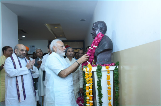 Modi's greetings for 37th Sthapana Diwas