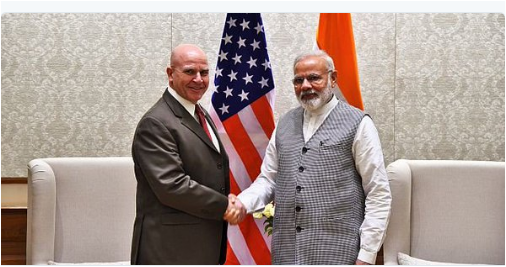 U.S., National Security Advisor HR McMaster visited India to reaffirm strategic partnership