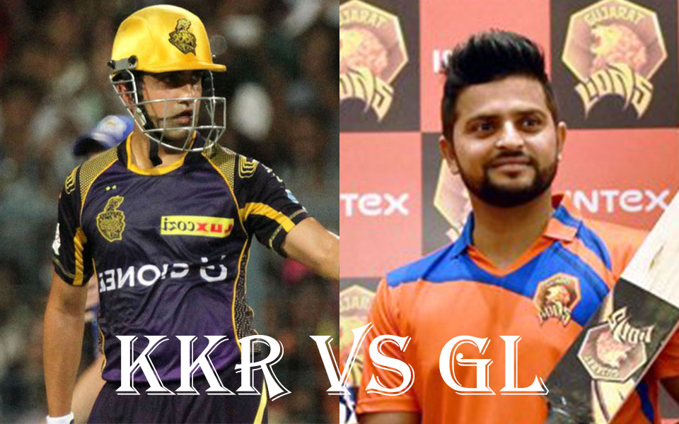 IPL 10 KKR VS Gujrat Lions 3rd Match Highlights:KKR openers demolish Gujarat Lions in season opener