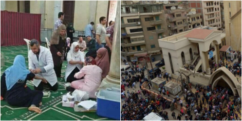 At least 44 people killed and more than 100 got injured, Egypt bombing attacks