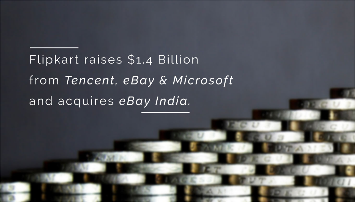 Flipkart acquires Ebay India and raises alt=