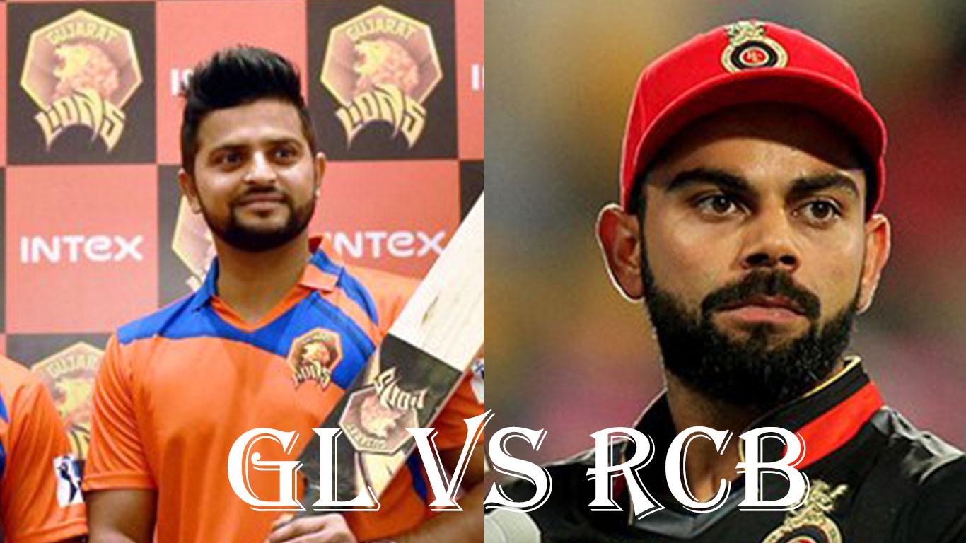 Virat Kohli's RCB Vs Suresh Raina's GL, IPL10 2017 18 April 20th Match preview