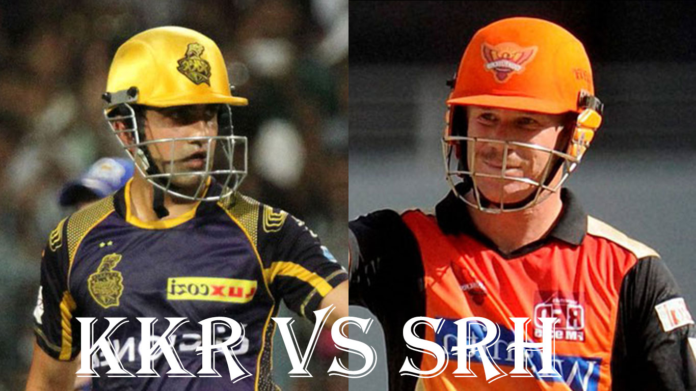 Kolkata Knight Riders Vs Sunrisers Hyderabad, IPL10 2017 15 April 14th Match preview