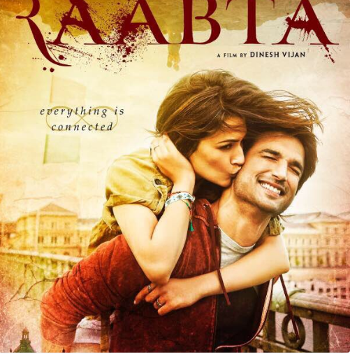 New couple Sushant and Kriti are ready to show their streaming chemistry in their new flick 'Raabta'