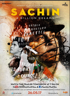 "Sachin: A million dreams first song out- ""Hind mere Jind"""