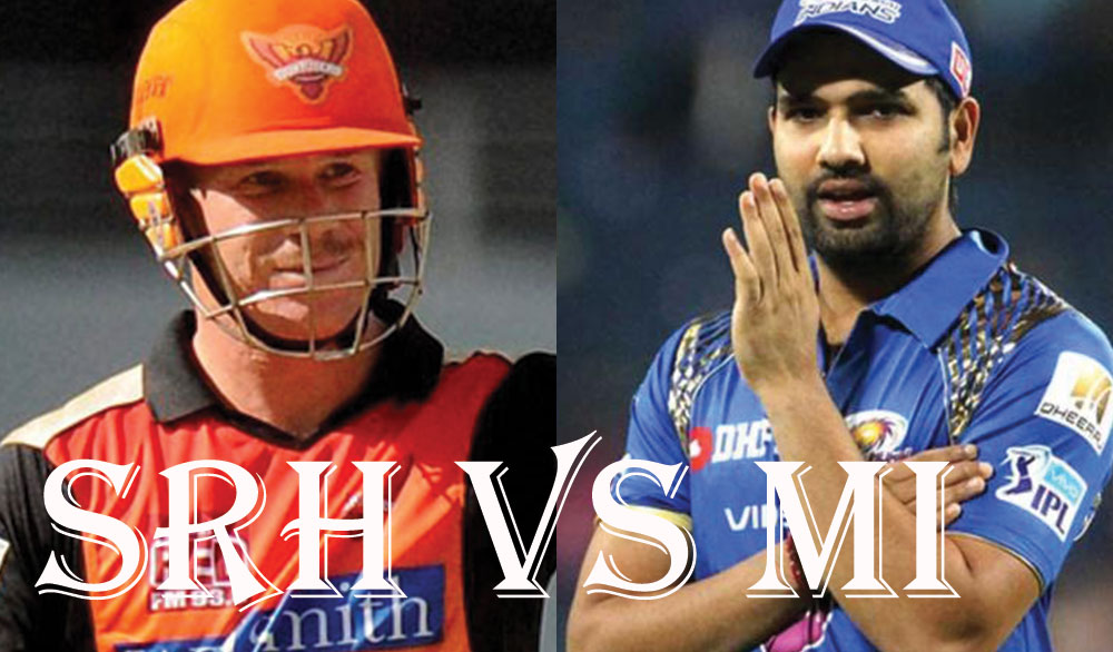 Sunrisers Hyderabad Vs Mumbai Indians, IPL10 2017 10th Match preview