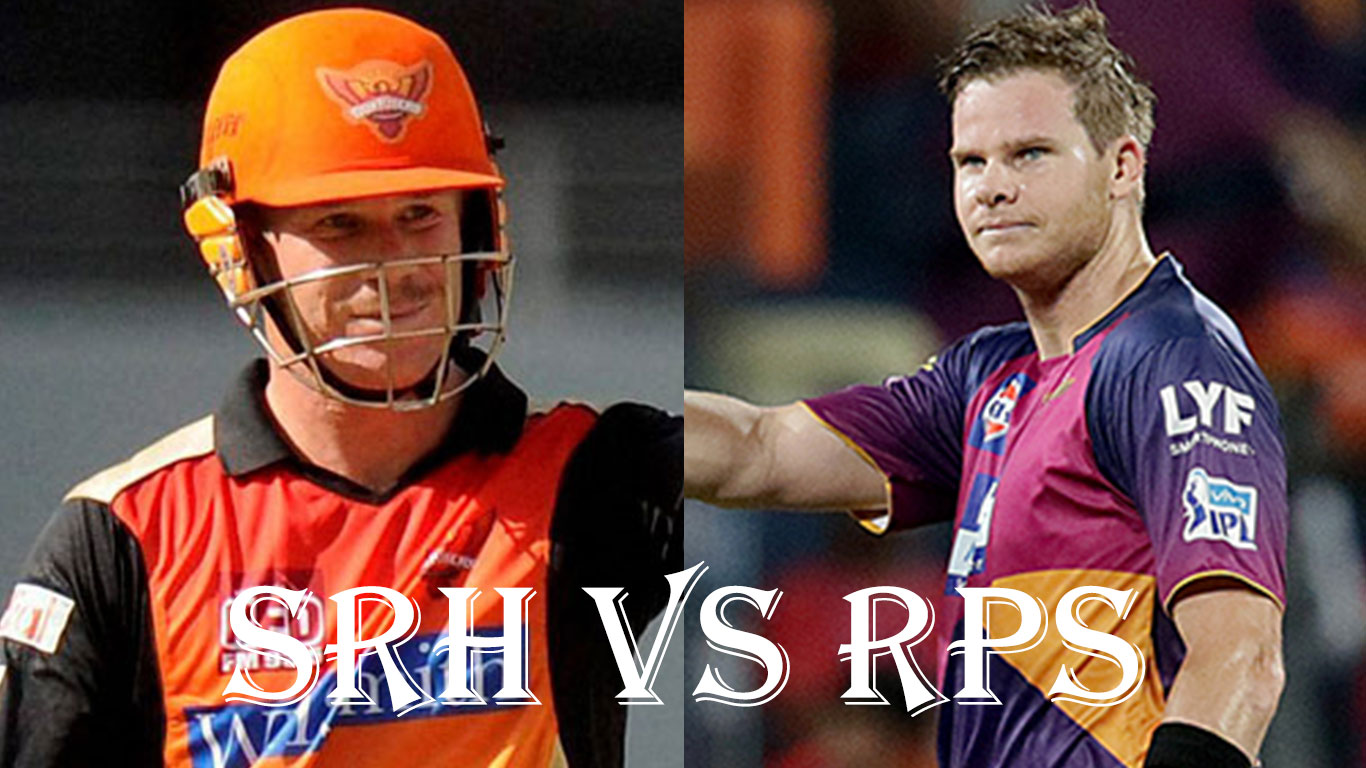 David Warner's SRH vs Steve Smith's RPS, IPL10 2017 22 April 24th Match preview