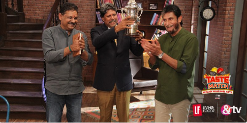 A Taste Match with Cricket Icons!!