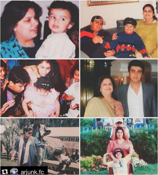 Arjun Kapoor, Mother's Day 2017