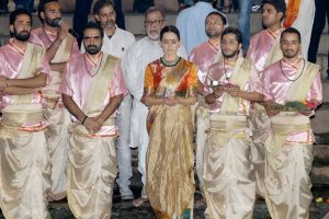 Kangana ranaut as Rani Laxmibai in Manikarnika