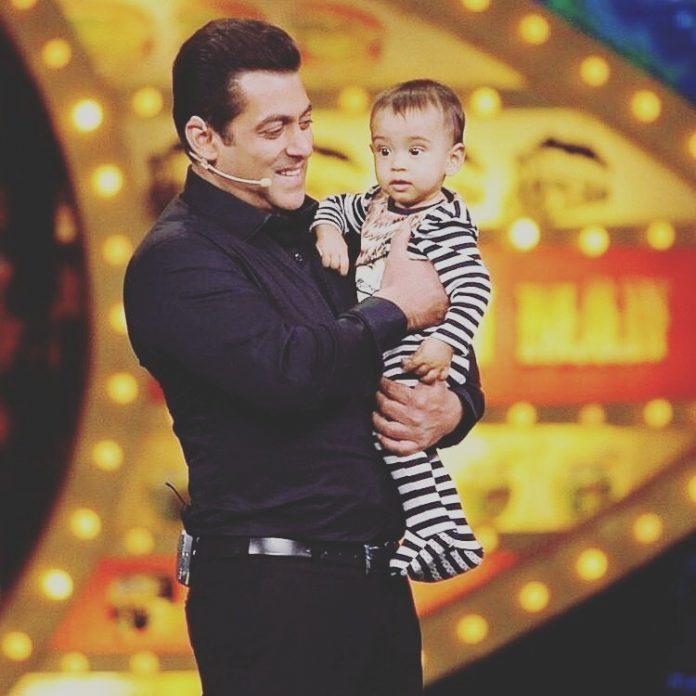 Salman Khan with Nephew Ahil