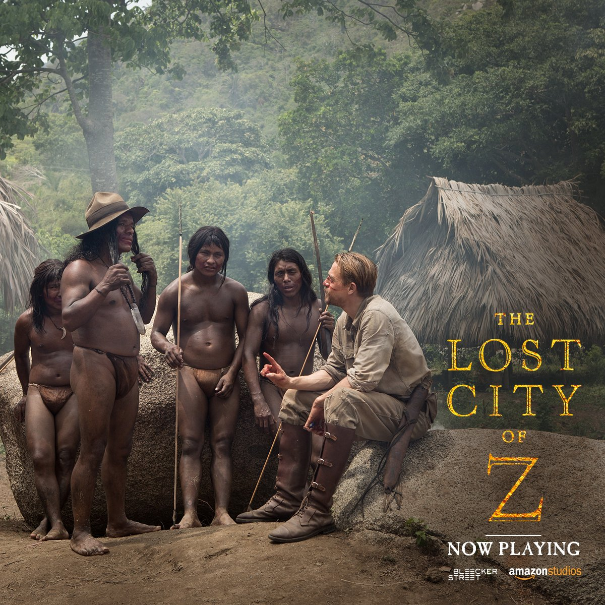 The Lost City of Z released today in cinema hall near you