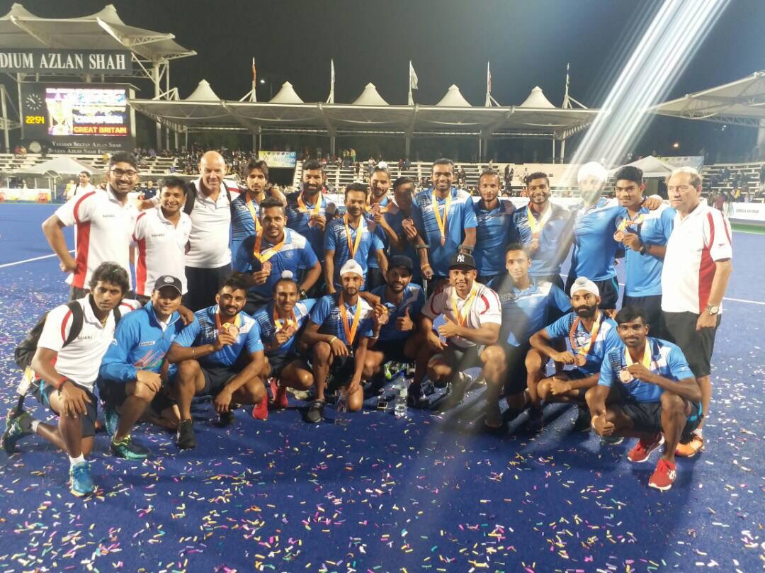 India Thrash New Zealand 4-0 To Clinch Bronze At Azlan Shah