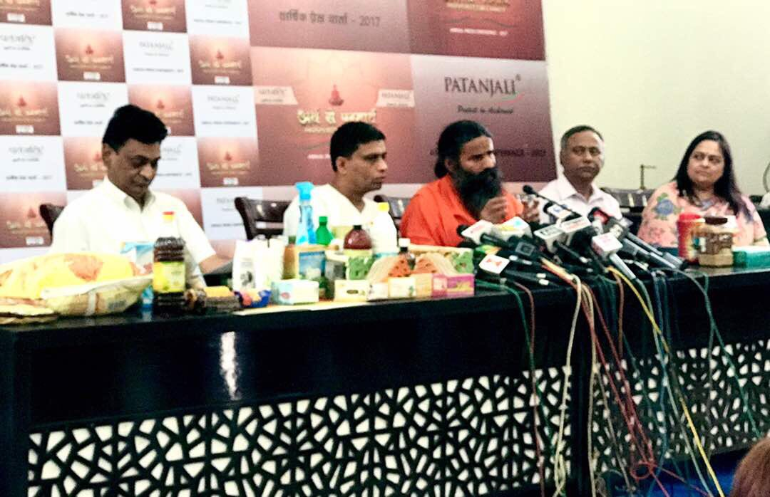 Yoga guru Baba Ramdev says prosperity for charity drives Patanjali