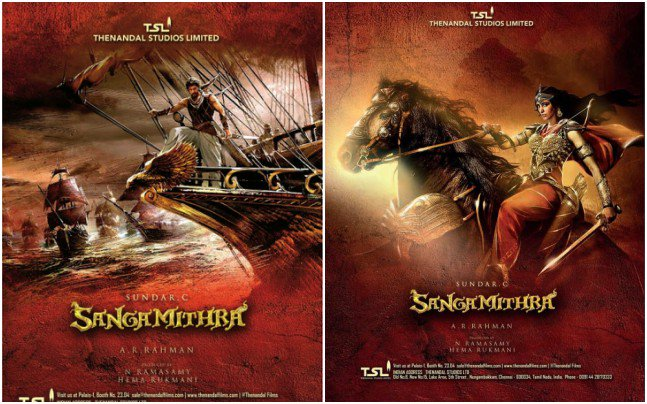 Sangamithra First Look unveiled at Cannes Film Festival