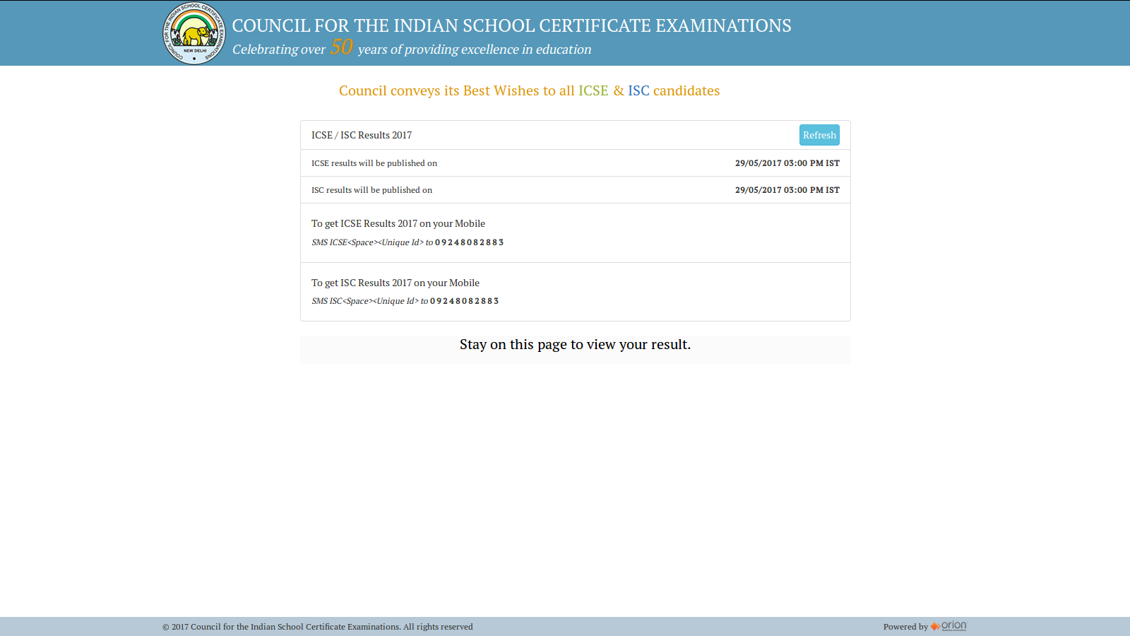 ICSE class 10th and 12th class results will be declared today : Check steps here for cisce.org