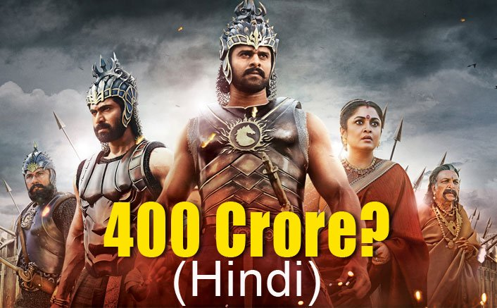 Baahubali 2 box office collection: The film's Hindi version all set to form the 400 crore club, beating Dangal