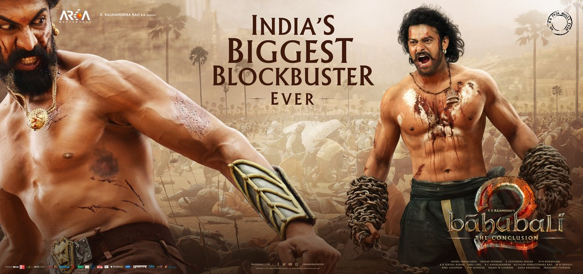 Baahubali 2 grosses 860 crores at the worldwide box office collection Day 7- Creating impact worldwide