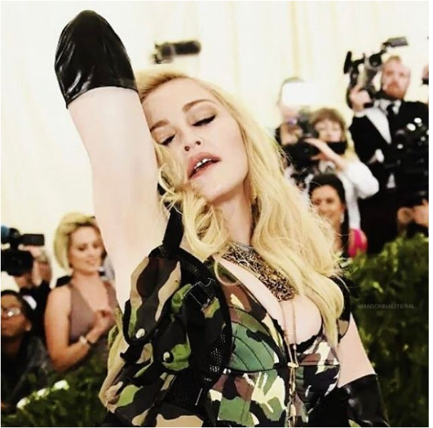Singer Madonna reveals naked images for her latest Instagram post