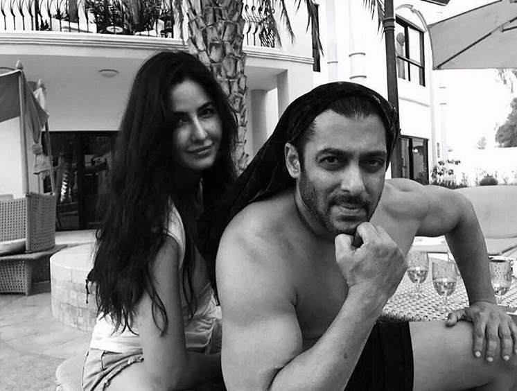 Salman Khan- Katrina Kaif bond on the sets of Tiger Zinda Hai.