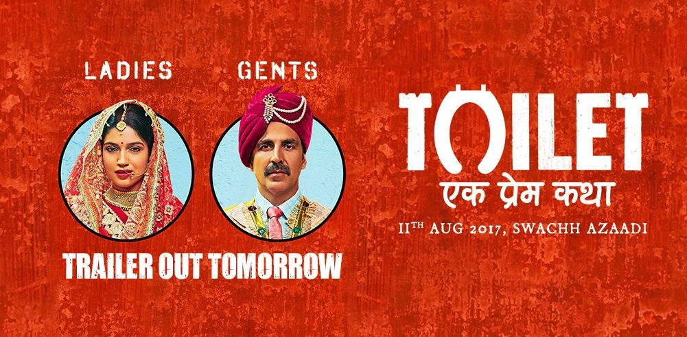 Toilet Ek Prem Katha trailer out tomorrow: Akhay Kumar with a powerful social message