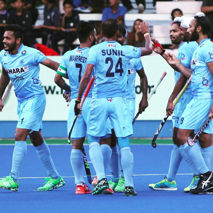 Hockey World League : India defeat Canada 3-0 As Sunil, Akashdeep and Sardar shine