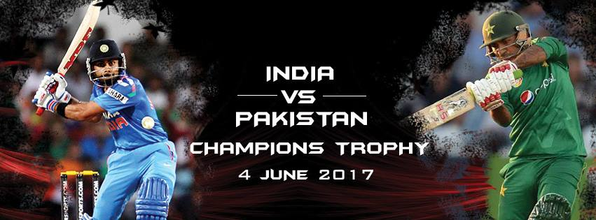 India Vs Pakistan ICC Champions Trophy 2017, India Won the match by 124 runs (DLS Method)