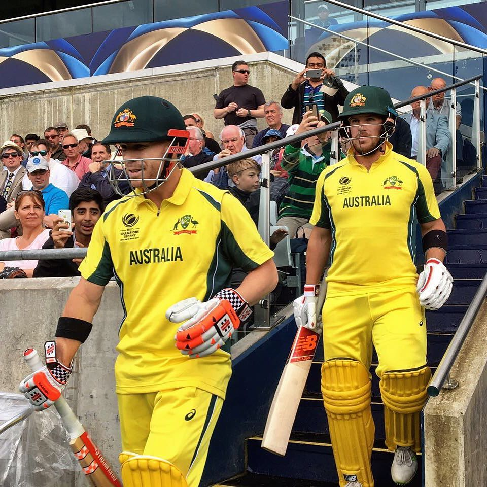 Australia v/s New Zealand Champions Trophy 2017 Highlights : Australia Escape With Single Point After Rain Forces Match Cancellation