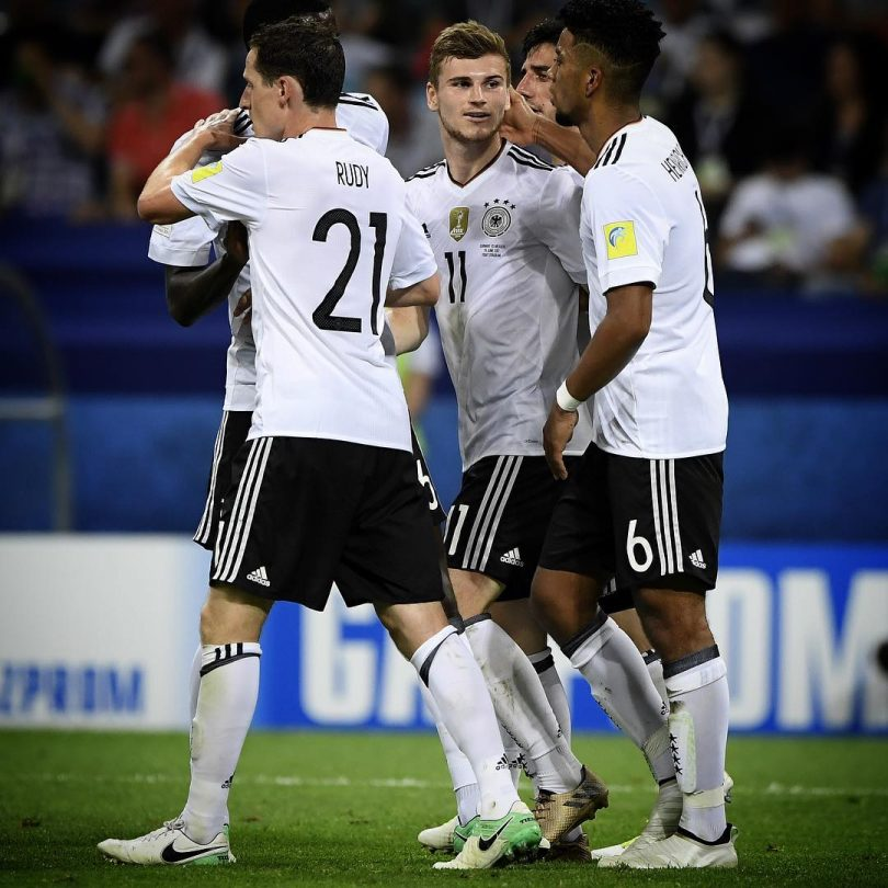 Goretzka Scores Twice As Germany Thrash Mexico 4-1 In Confederations Cup Semis