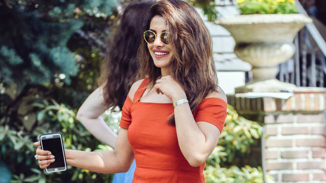 Priyanka Chopra spotted on the sets of her new Hollywood film 'A Kid Like Jake'