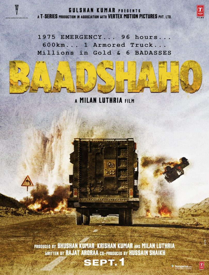 Baadshaho movie: The Sandstorm Is Coming
