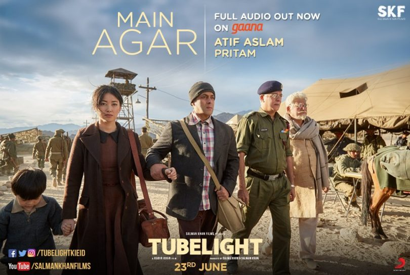 Tubelight Song Main Agar by Atif Aslam is a soulful Track