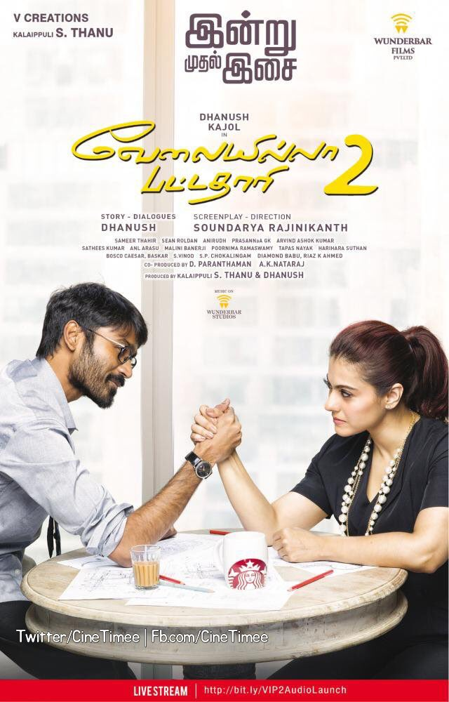 Catch Kajol and Dhanush together in VIP 2