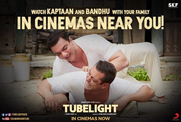 Tubelight Collection on Box Office