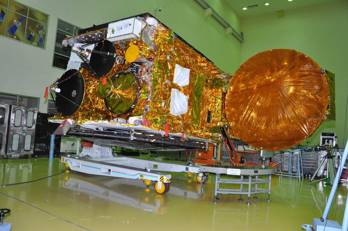 French rocket Ariane-5 launches India's communication satellite GSAT-17
