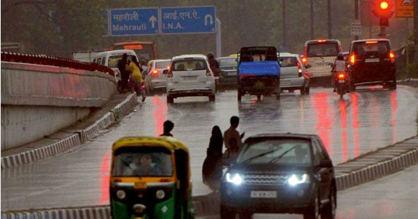 Delhi Rains: Pre-monsoon showers bring relief from heat