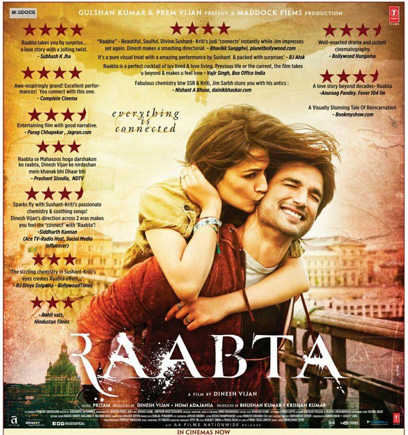 Raabta Grabs 10 Crores in First Two Days – Opening Weekend Bleak