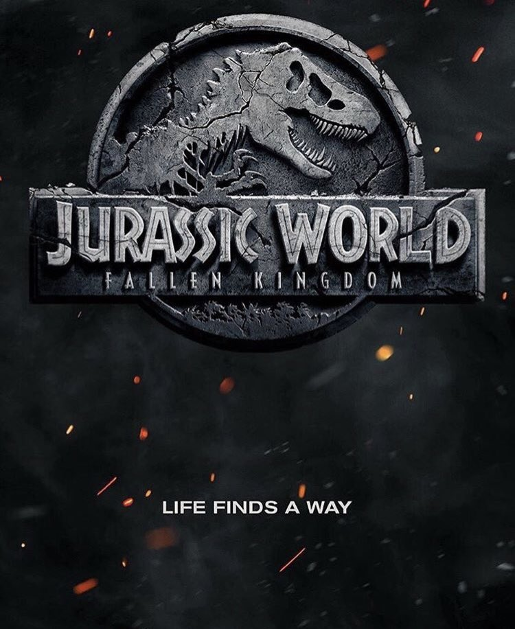 Jurassic World: Fallen Kingdom – Check out the first poster for this freshly titled sequel