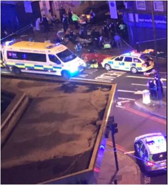 London Finsbury Park attack: A van hits Muslim worshipers during Ramadan Fast