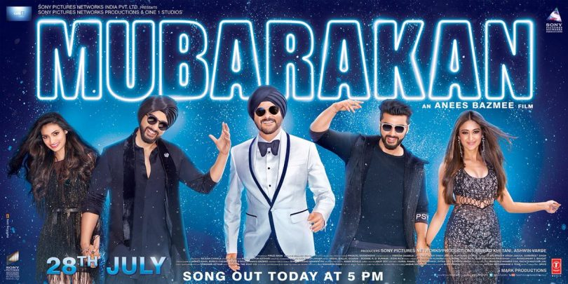 Mubarakan title track is out now – The season's party anthem!