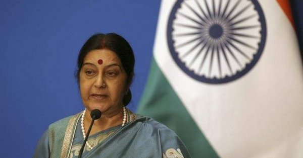 Sushma Swaraj rescued two months old Pakistani child