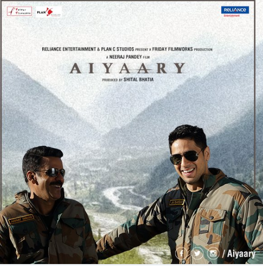 Aiyaary: Manoj Bajpayee and Sidharth Malhotra team up for the first time