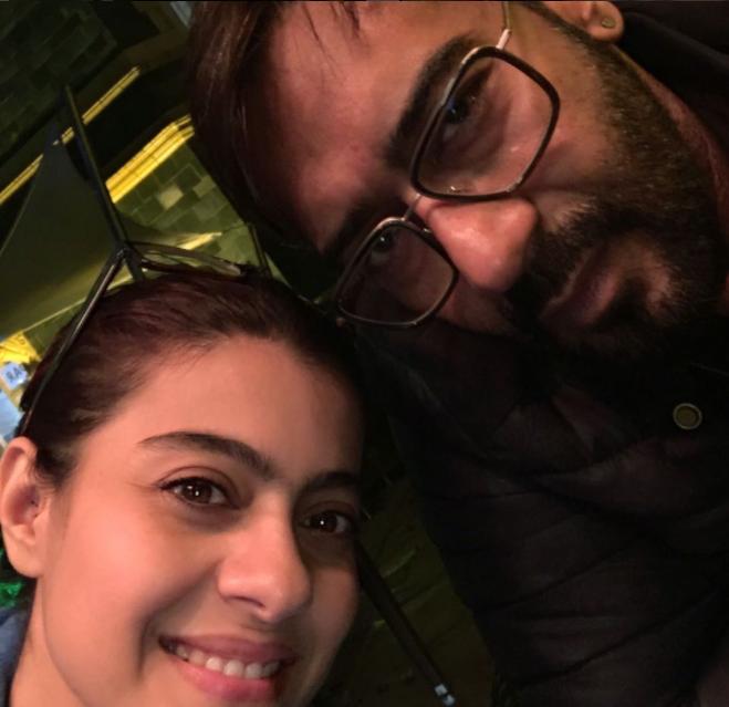 Ajay Devgan enjoying with his family: Uploads candid pictures on twitter