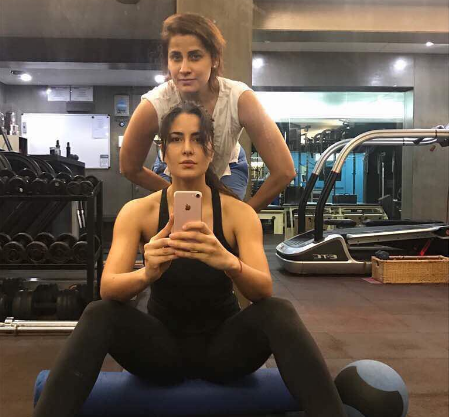 Bollywood hot actresses workout in gym: Kareena, Katrina, Alia and more