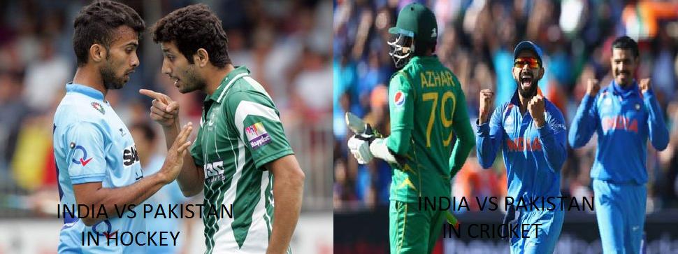 hockey vs cricket in india Watch india u19 vs australia u19 world cup final cricslive live sports updates,live cricket pakistan vs india asia cup hockey 2017 match live.