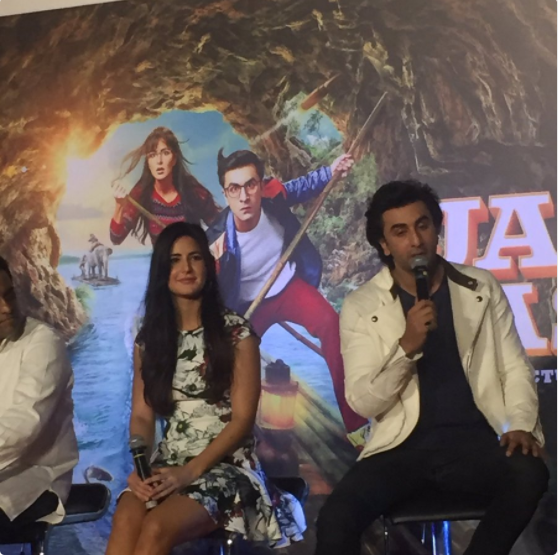 Jagga Jasoos behind the scene video: Are Ranbir and Katrina avoiding each other?