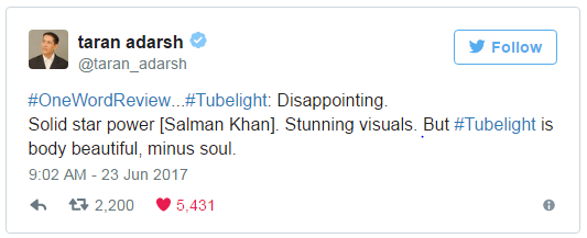 tubelight 2 day collection, box office collection tubelight, total collection tubelight day2 , tubelight collection